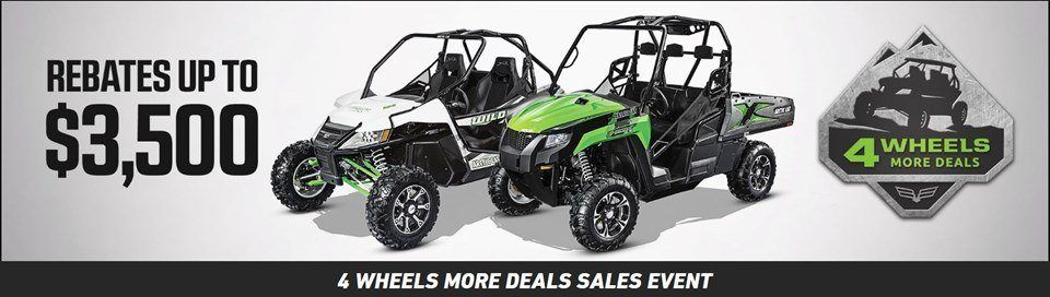 4 wheels more UTV deals