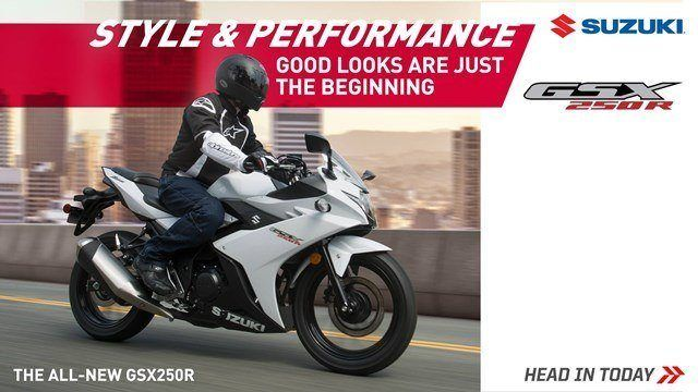 Suzuki Fall Suzukifest Sportbike and Standard Motorcycle Financing as Low as 1.99% APR for 36 Months or Customer Cash Offer
