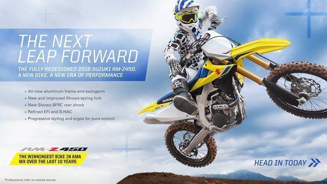 Suzuki Fall Suzukifest Motocross and Offroad Motorcycle Financing as Low as 1.99% APR for 36 Months or Customer Cash Offer